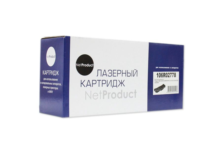 Картридж (106R02778)  Xerox Phaser 3052/3260/WC 3215/3225, 3K, NetProduct
